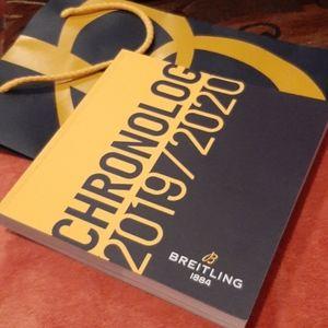 Breitling Bundle: Catalog+Bag